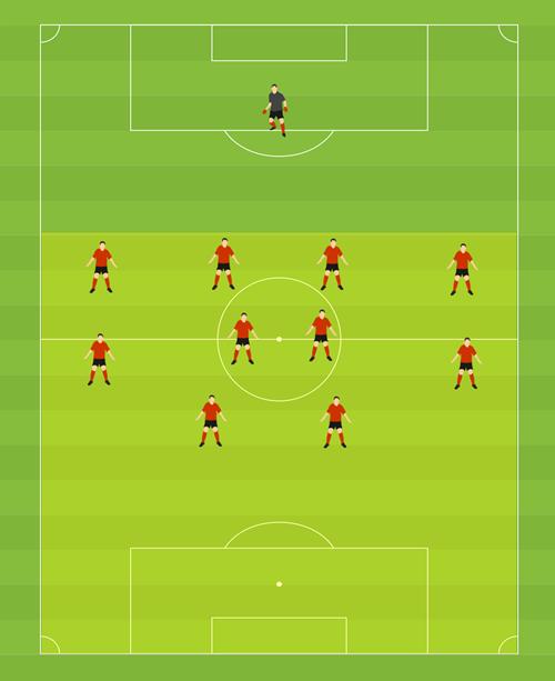 Einfuhrung Pressing Im Fussball Soccerdrills De