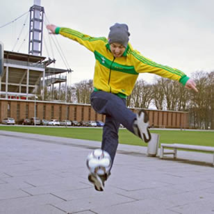 Freestyle Fußball