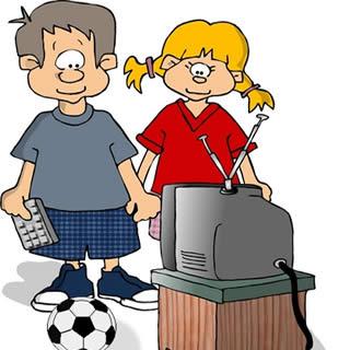 Fernseher Oder Fernsehen Schauen