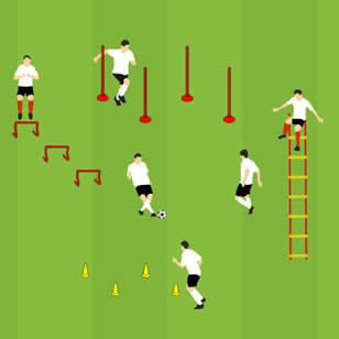 Fussball Spielsysteme Grundlagen Des 4 2 3 1 Soccerdrills De