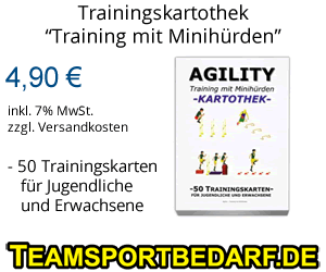 Trainingshilfen Minihürden