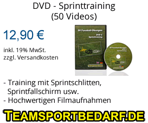 DVD - Sprinttraining - 50 Videos