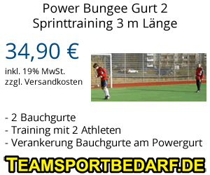 Power Bungee Gurt 3 m Länge