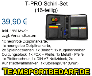 Schiri-Set - Fussball