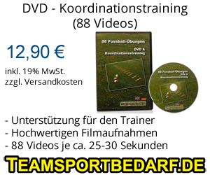 DVD - Koordinationstraining - 88 Videos