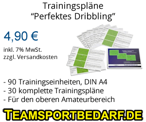 Trainingspläne Dribbling