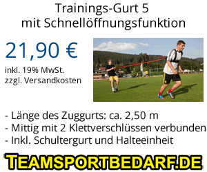 Training mit Zugwiderstand