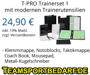 T-PRO Trainerset 1 - Fußball