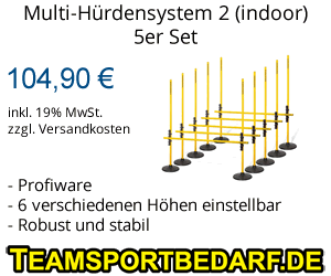 Multi-Hürdensystem indoor