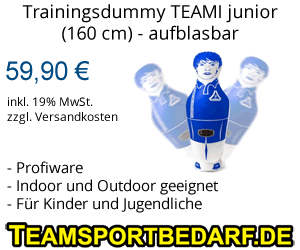 Trainingsdummy aufblasbar